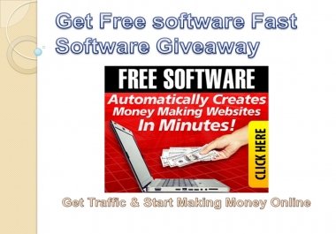 """show you where to get """"Free Software That Automatically Creates Money Making Websites In Minutes!"""""""
