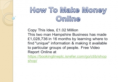 show you how to get exposure and traffic from the front page of Google in the next 7 minutes